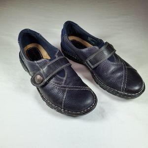 Earth Origins Navy Blue Walking Shoe, Sz 7.5